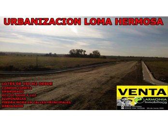 MES DE FINANCIACIÓN 100 % EN LOMA HERMOSA RUTA 11 KM 23