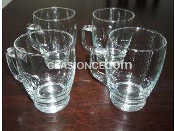 Liquido 4 jarras cerveceras a 150 pesos