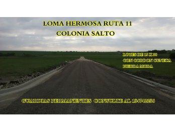 URBANIZACION LOMA HERMOSA LOTES 100 % FINANCIADO