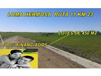 URBANIZACION LOMA HERMOSA LOTES 100 % FINANCIADOS