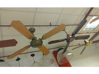 Ventiladores techo de chapa o madera