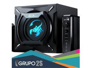 Sistema 2.1 de gran potencia para juegos y multimedia