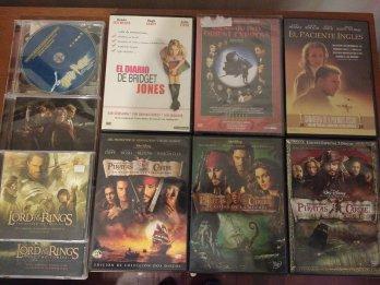 COLECCION PELICULAS DVD Y CD ORIGINALES. NUEVOS
