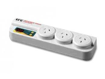 Protector de tensión intelig. -p/electrodomesticos -3 tomas