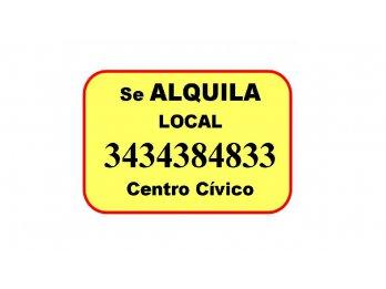 Local se ALQUILA zona Centro Cívico