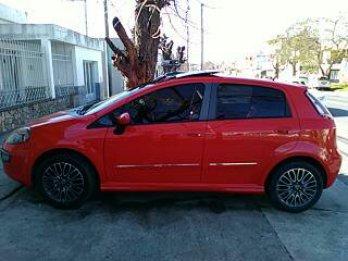 VENDO FIAT PUNTO SPORTING 1.6-16V TECHO-CUERO-2014