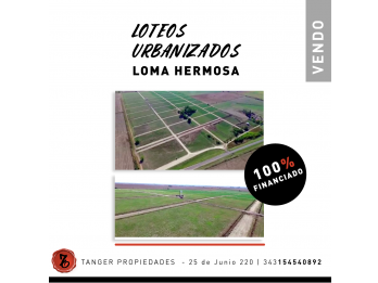 ESPECTACULARES LOTES 100% FINANCIADOS - RUTA 11 KM 23