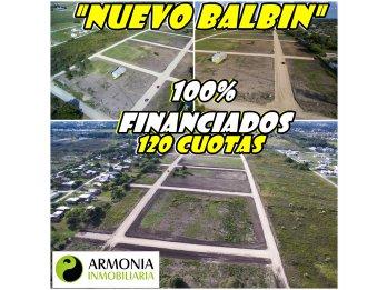 ATENCION PARANA ,LOTEO NUEVO BALBIN LOTES 100 % FINANCIADO
