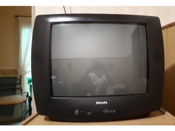 Tv Philips 21 estereo con control remoto + soporte