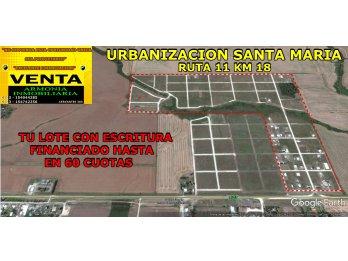 LOTES CON PLANO Y ESCRITURA FINANCIADOS 100 % EN RUTA 11