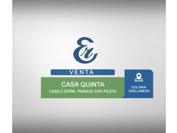 Venta - Casaquinta en Colonia Avellaneda