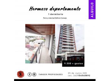 HERMOSO DPTO. 1 DORMITORIOS CON COCHERA CUBIERTA - PERU