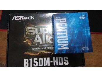 Pentium G4560 + ASROCK B150
