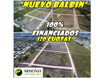 VENDO URBANIZACIÓN NUEVO BALBIN EN PARANA 100% FINANCIADOS