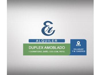 Alquiler - Duplex  Amoblado - Villaguay y M. Caseros