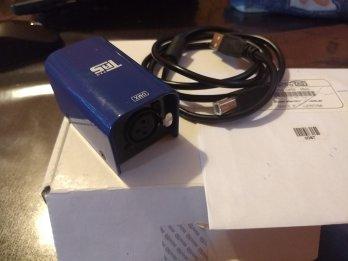 Vendo  Interface Usb - Dmx 512 Controlador Iluminac
