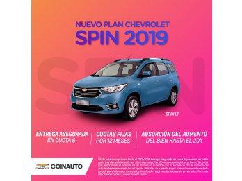 NUEVO PLAN CHEVROLET SPIN 2019