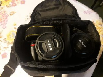 Nikon D7000+ Lente18-105+ lente 55-300 nuevo