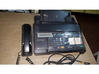 Fax  Panasonic  KX-F90 con contestador  telefónico y manos l