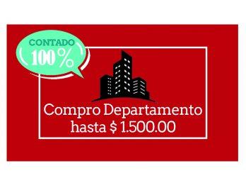 Compro contado departamento céntrico en Paraná