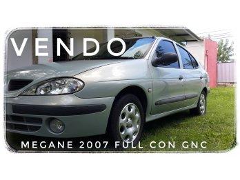 Particular vendo o permuto Renault megane 2007 Gnc Impecable