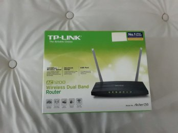 Router Tp-link Archer C50 Ac1200 Dual Band 5.0-2.4ghz Tether