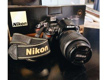 NIKON D3100 + kit lente 18- 55