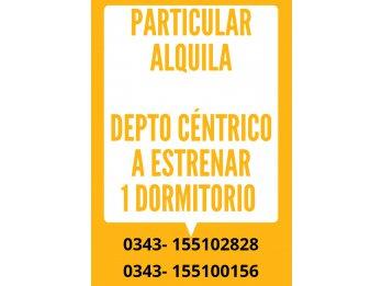 PARTICULAR ALQUILA DEPTO