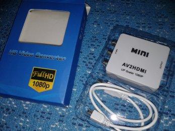 Conversor imagen AV a HDMI