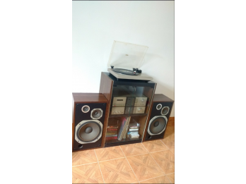 Pioneer  Amp. A-6,  Band. PL-2,  Deck CT-4, Bafles CL-70