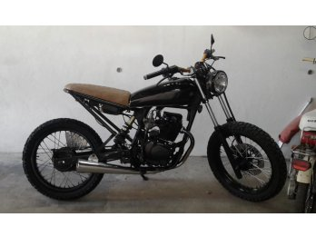 cafe racer tracker motomel 150