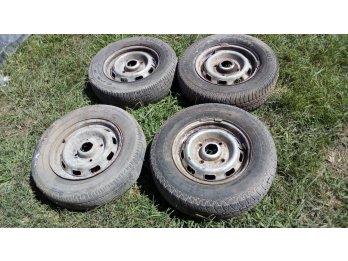 vendo 4 ruedas de 504