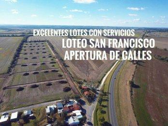 ULTIMO LOTE EN $200.000 LOTEO SAN FRANCISCO-COLONIA ENSAYO