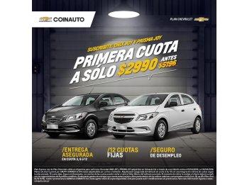 PRIMERA CUOTA A SOLO $2990