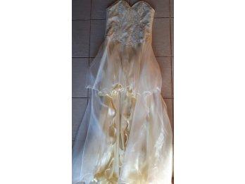 Vendo vestido de recepción (único uso)
