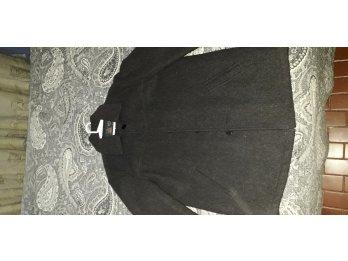Saco de paño gris