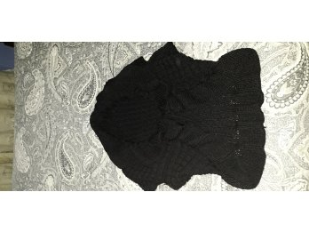 Chaleco negro talle S