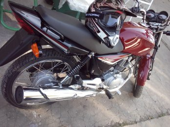 Honda CG Titan 150 increible!!