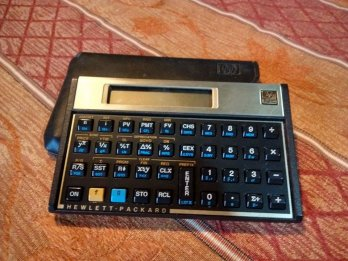 Vendo calculadora financiera HP 12c excelente estado