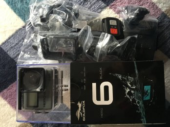 Vendo cámara Goldfox Hero 6 Black