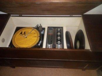 Tocadiscos Motorola/Bgh. Vintage Decorar No funciona