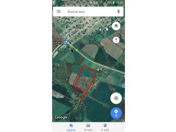 Campo de 24 hectareas sobre ruta