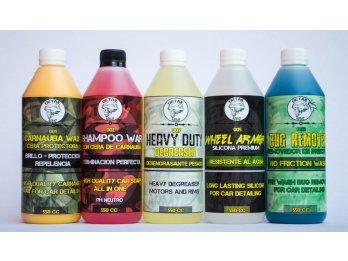 Productos Detail Army para el cuidado vehicular