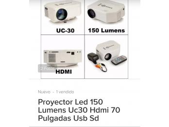 Vendo mini proyector de LED