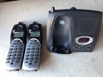 Telefono Inalambrico General Electric (doble)