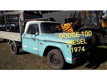 Dodge 100 con perkins y aire acondicionado