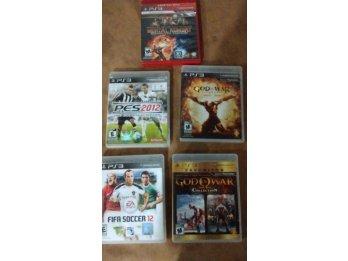 Vendo 5 juegos PS3