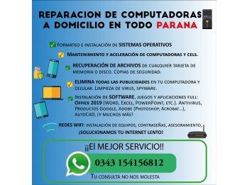 REPARACION DE COMPUTADORAS, CELULARES Y REDESWIFI