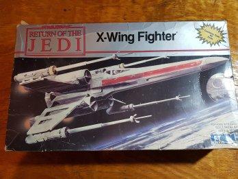 X-wing Fighter Mpc 1:43 Misma Escala Halcon Deagostini!!!