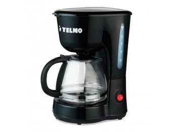 Cafetera De Filtro Electrica Automatica Yelmo 6 Tazas 650w